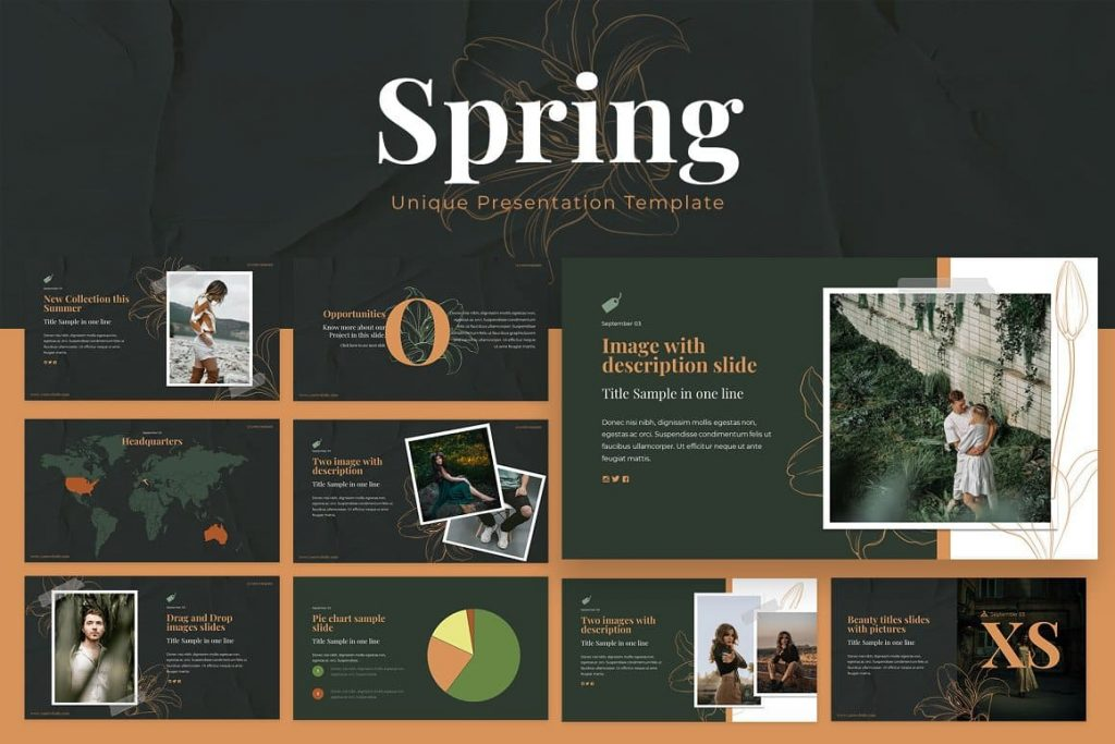Spring Powerpoint Presentation cover.