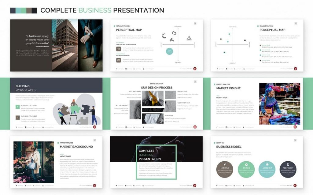 Market Analysis Slides Complete Business Powerpoint Template.