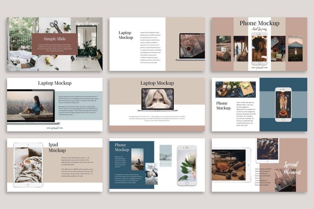 Editable Slides Glorious PowerPoint Template.