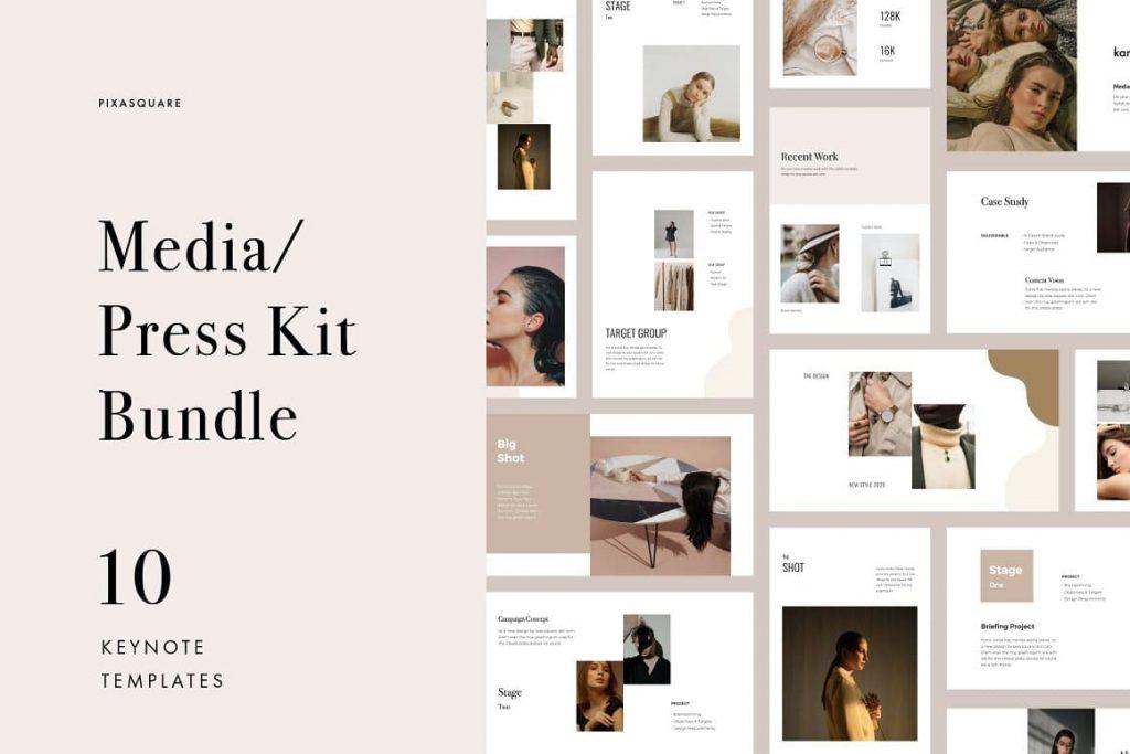 Cover for Keynote Media / Press Kit Bundle.