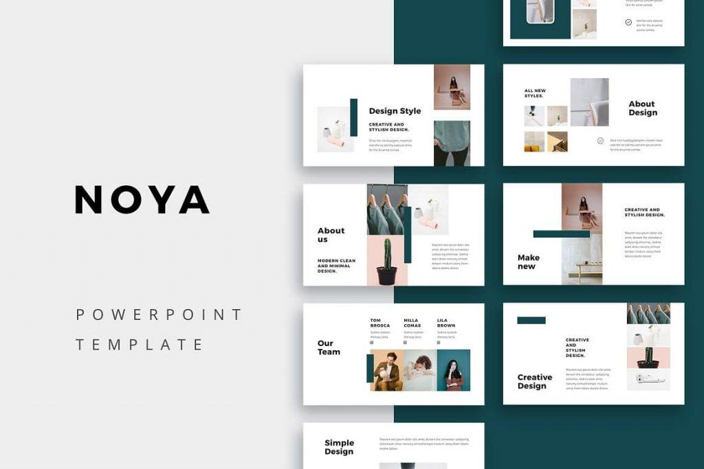 Cover NOYA - Powerpoint Template.