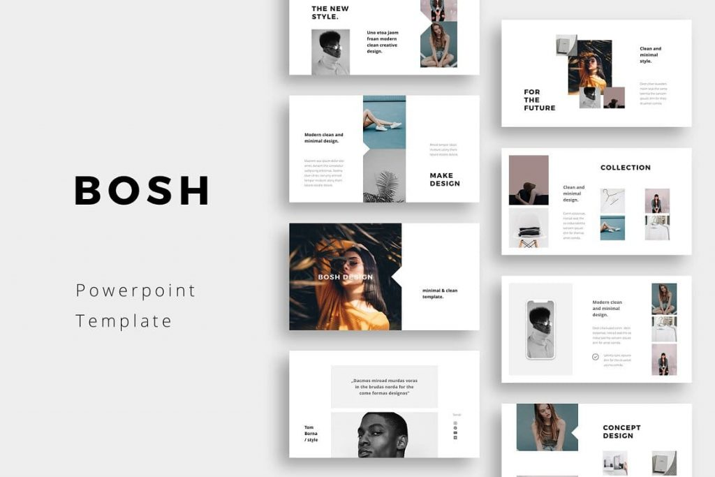 BOSH Cover - Powerpoint Template.