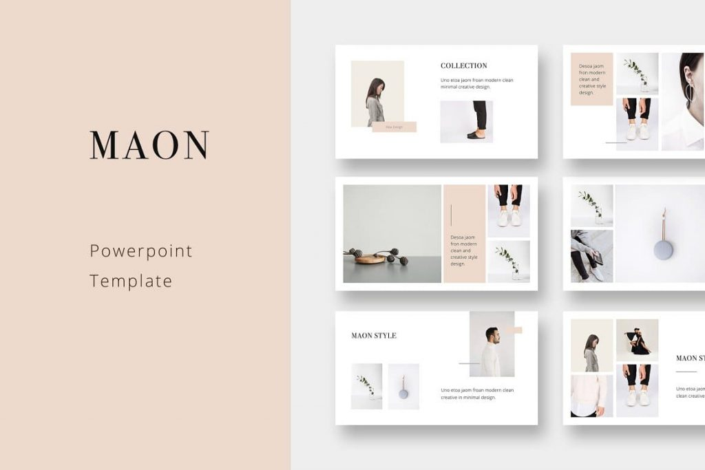 Cover MAON - Powerpoint Template.