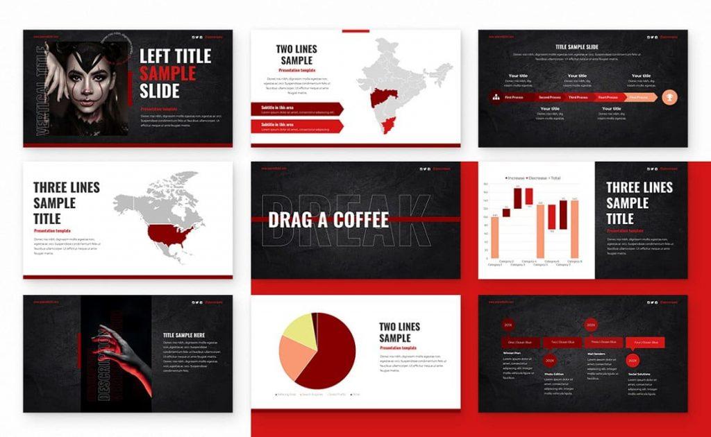 Free fonts Alternative Powerpoint Presentation.