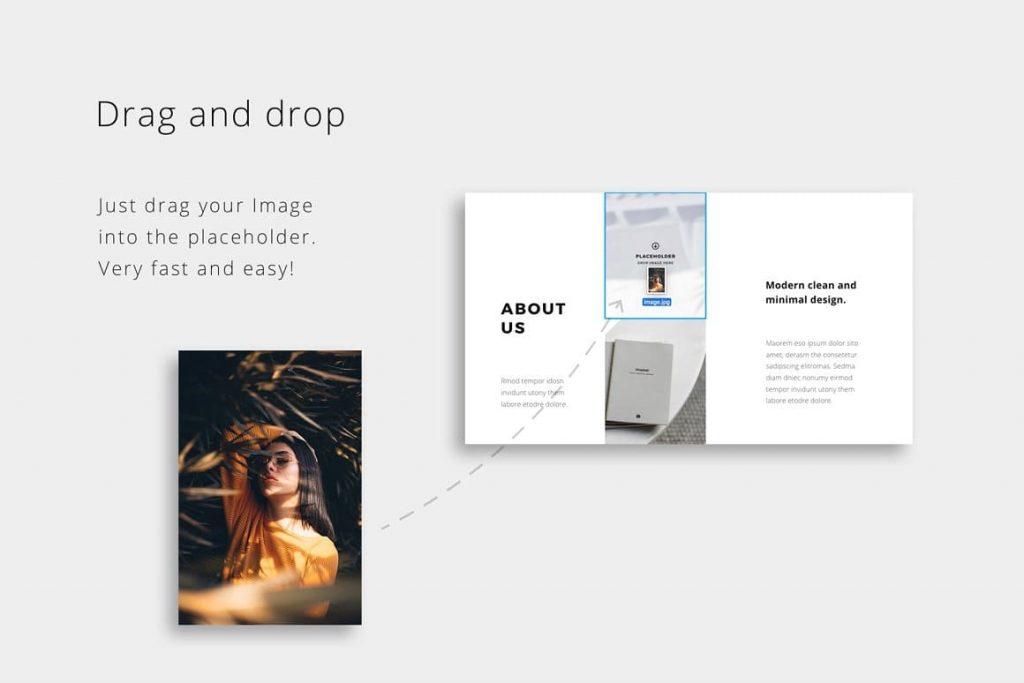 Drag & drop BOSH - Powerpoint Template.