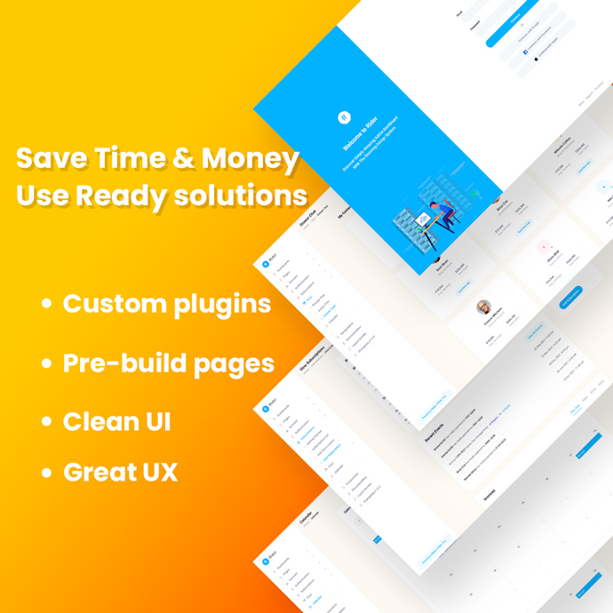 Rider HTML Free - Bootstrap 5 Admin Theme preview image.