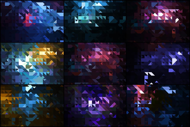 30 amazing mosaic backgrounds.