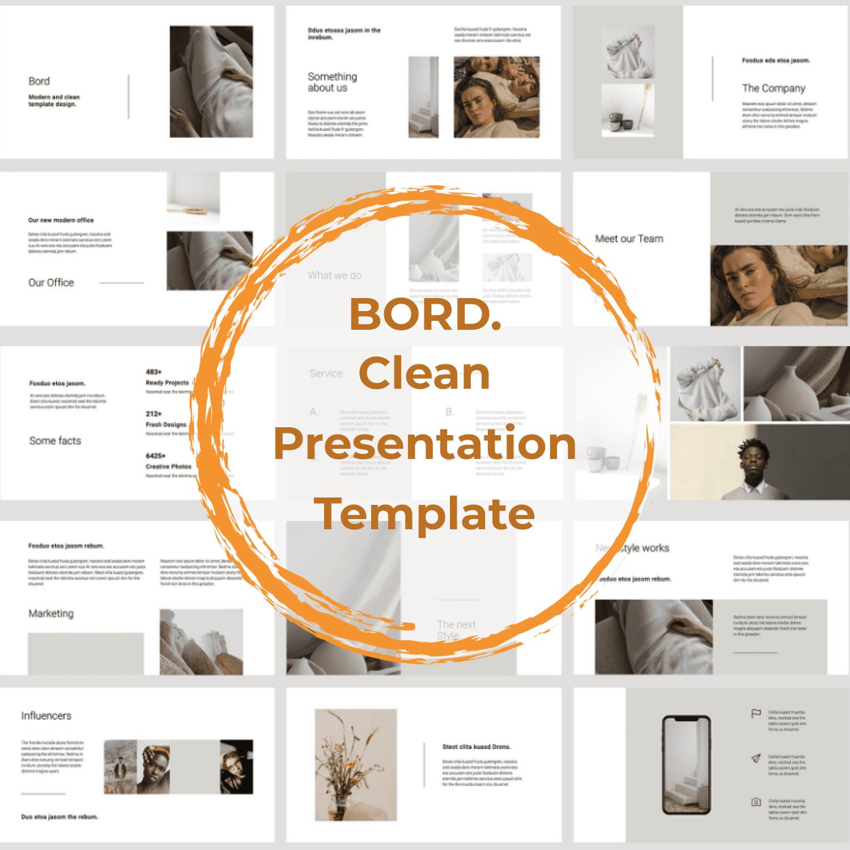 BORD Google Slides Template by MasterBundles.