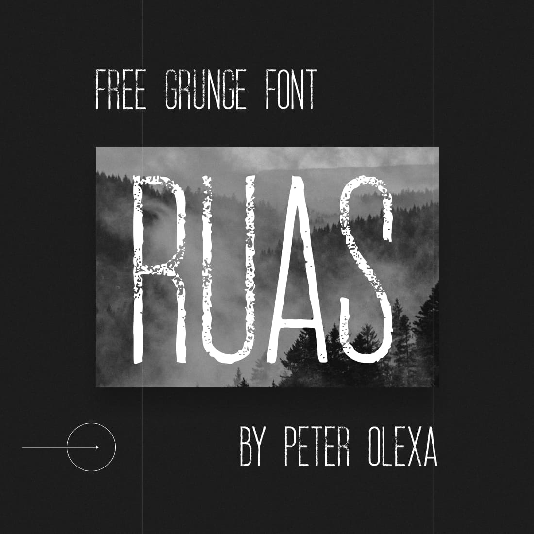 Main Cover for Grunge font free.