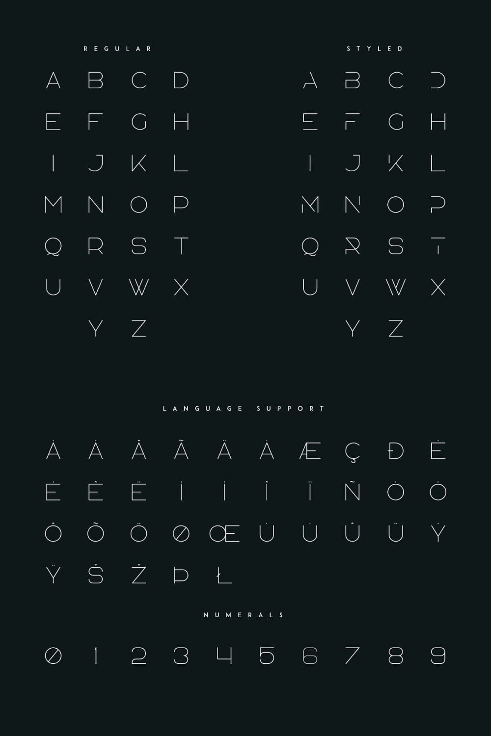 01. Agelast Display Font 10 Graphics Pinterest preview.