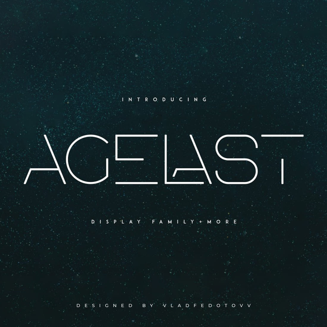 agelast Display Font 10 Graphics cover image.