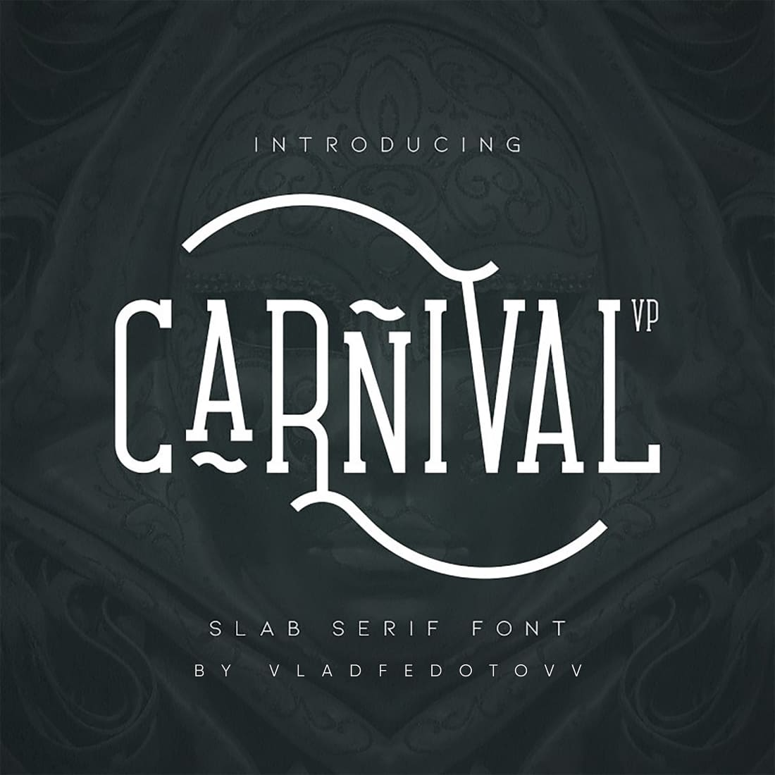 Carnival VP Slab Font – Latin Cyrillic cover image.