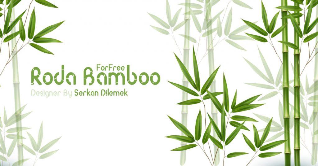 Free Bamboo Font Facebook Collage Image by MasterBundles.