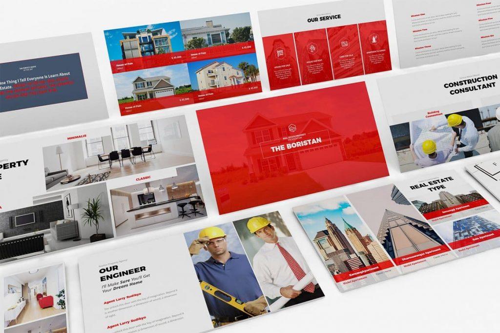 Sample Slides Real Estate Google Slides Template.