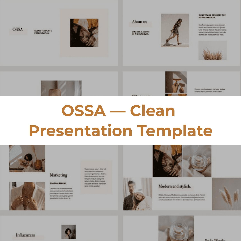 OSSA Google Slides Template by MasterBundles Collage Image.