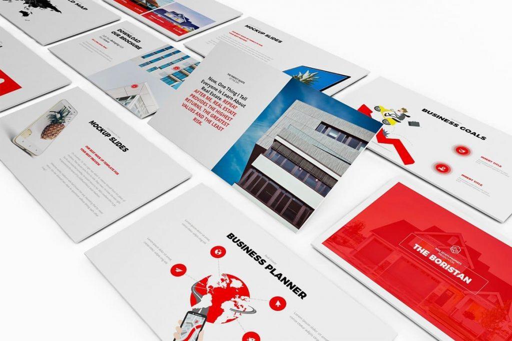 100+ Unique Creative Slides Real Estate Google Slides Template.