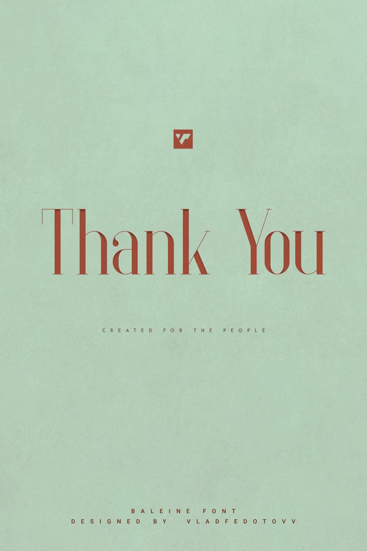 03. Baleine – Slab Serif Font 4 weights Pinterest Cover image.