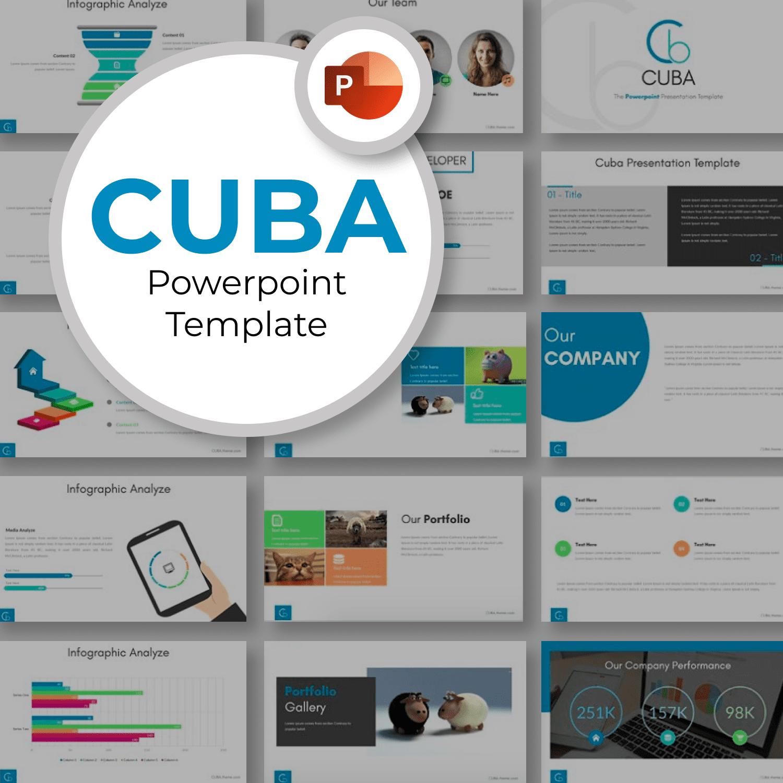 Cuba - Powerpoint Template by MasterBundles.