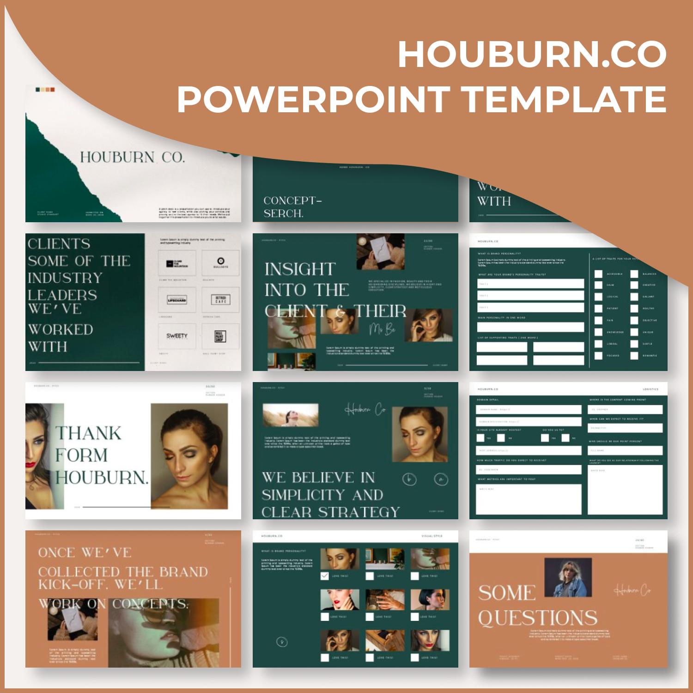 1 Houburn.CO Powerpoint Template 1500х1500