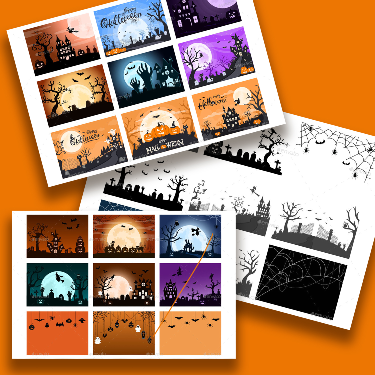 31 Halloween Night Party Illustration cover image.