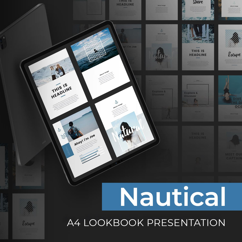 Nautical - A4 Printable PowerPoint by MasterBundles.