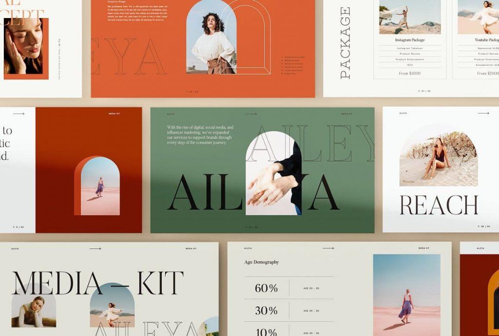 Cover for AILEYA - Powerpoint Media Kit.