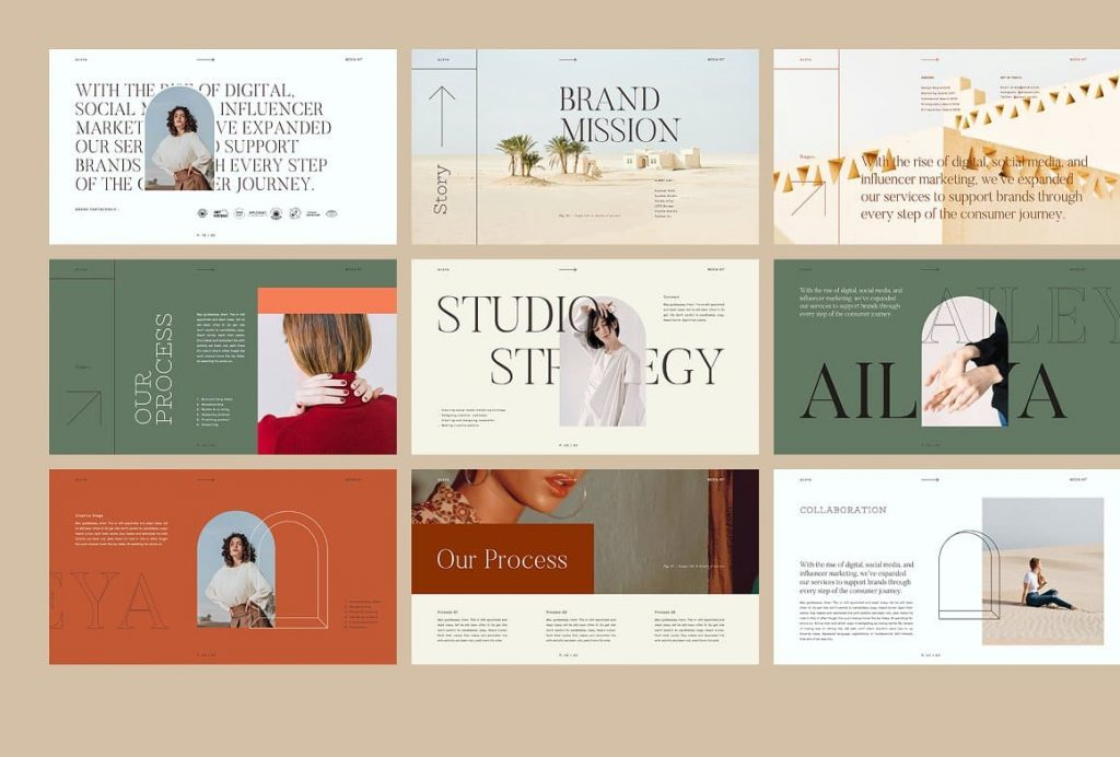 Free font AILEYA - Powerpoint Media Kit is used.