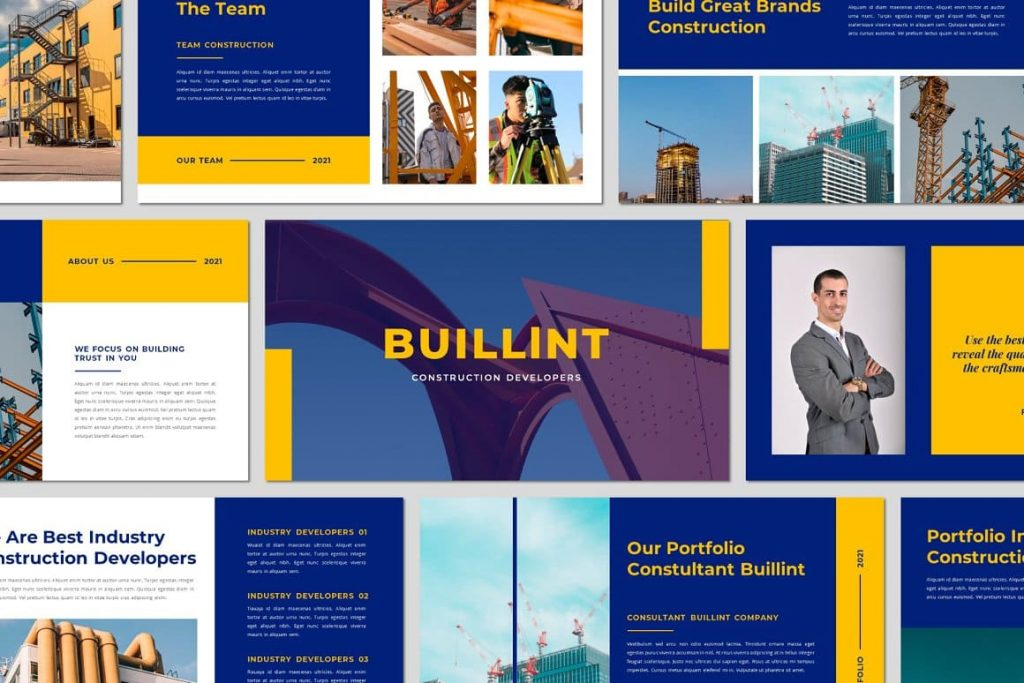 Preview slides BUILLINT Keynote Template.