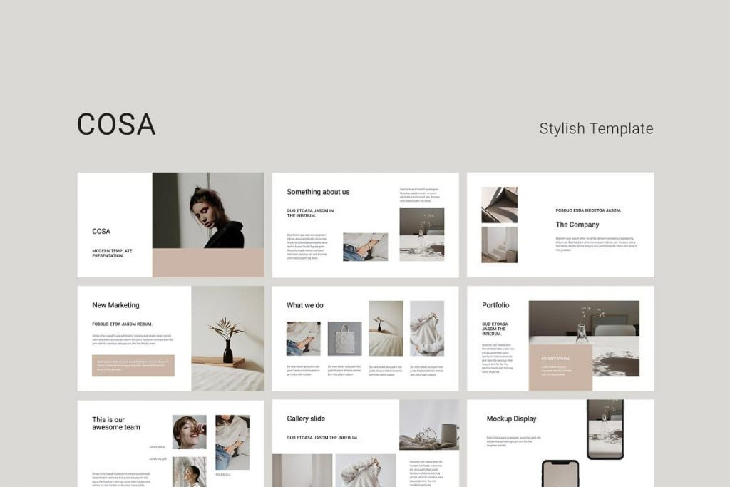 Cover COSA - Keynote Style Template.