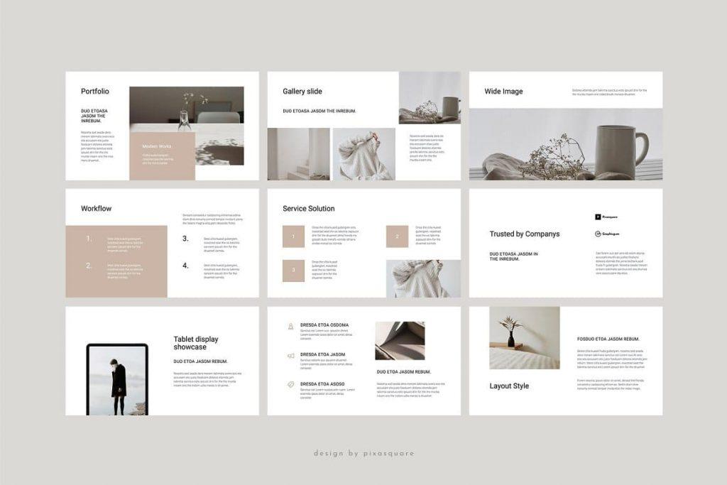 Sample Slides COSA - Keynote Style Template.