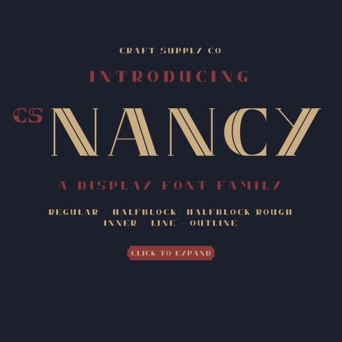 Elegant Serif Font Main Cover.