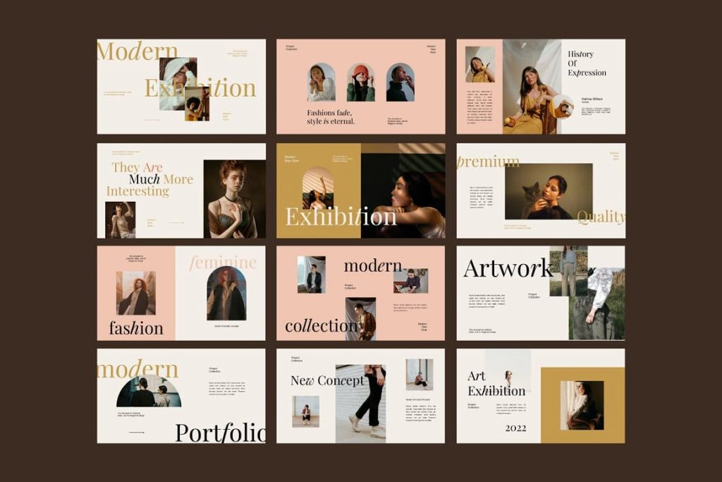 All slides Exhibition Keynote Template.