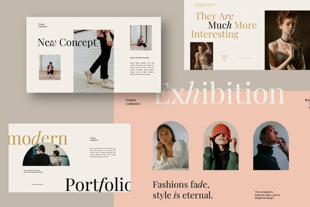 Easy to Customize Exhibition Keynote Template.
