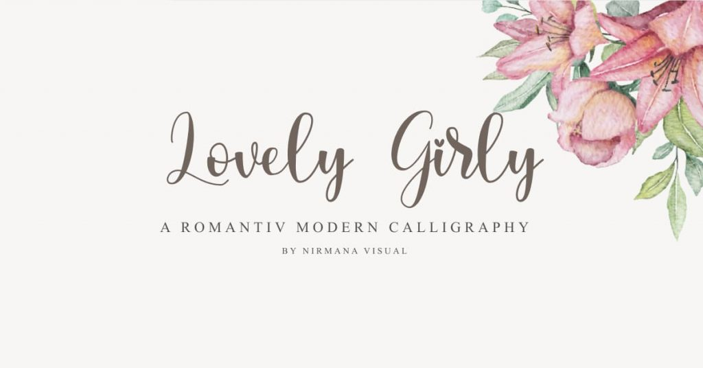 Free Girly Font Beautiful Facebook Collage Image.