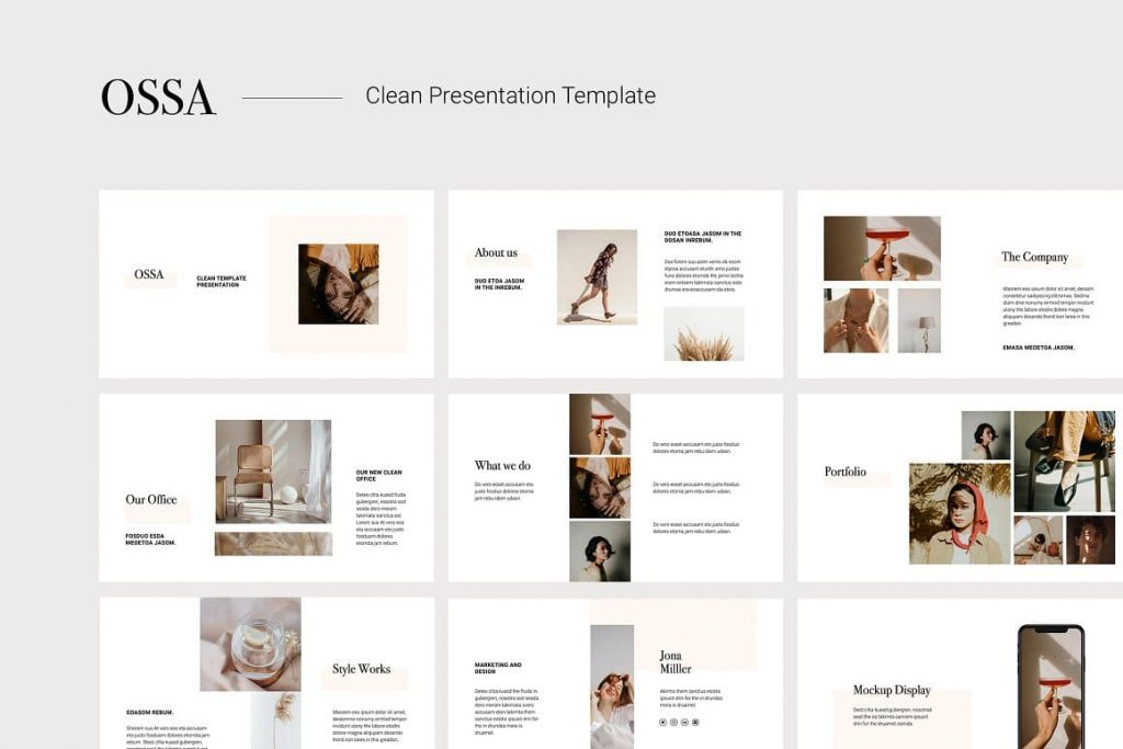 Cover OSSA - Clean Google Slides Template.