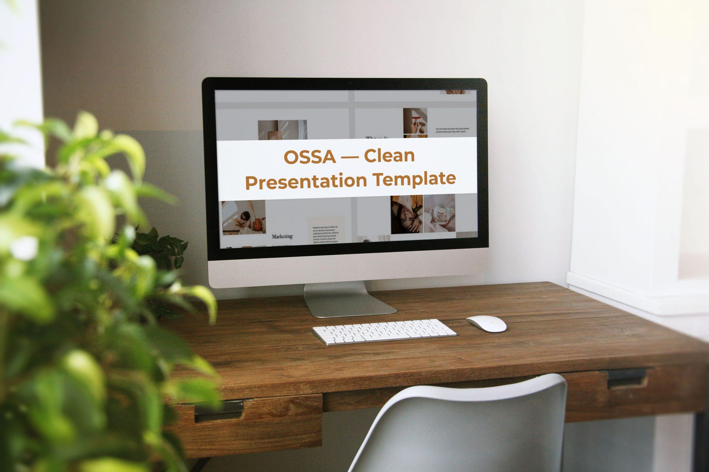 OSSA Google Slides Template by MasterBundles Desktop preview mockup image.