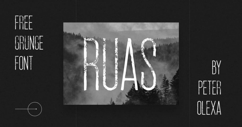 Grunge Font Free Collage Image for Facebook.