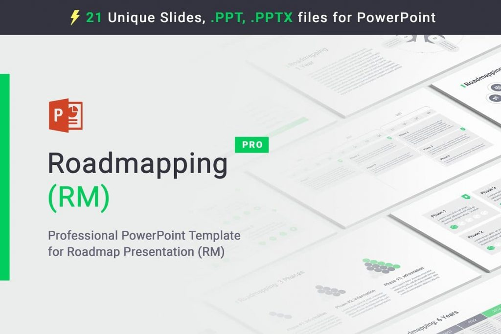 Cover of the Roadmapping for PowerPoint.
