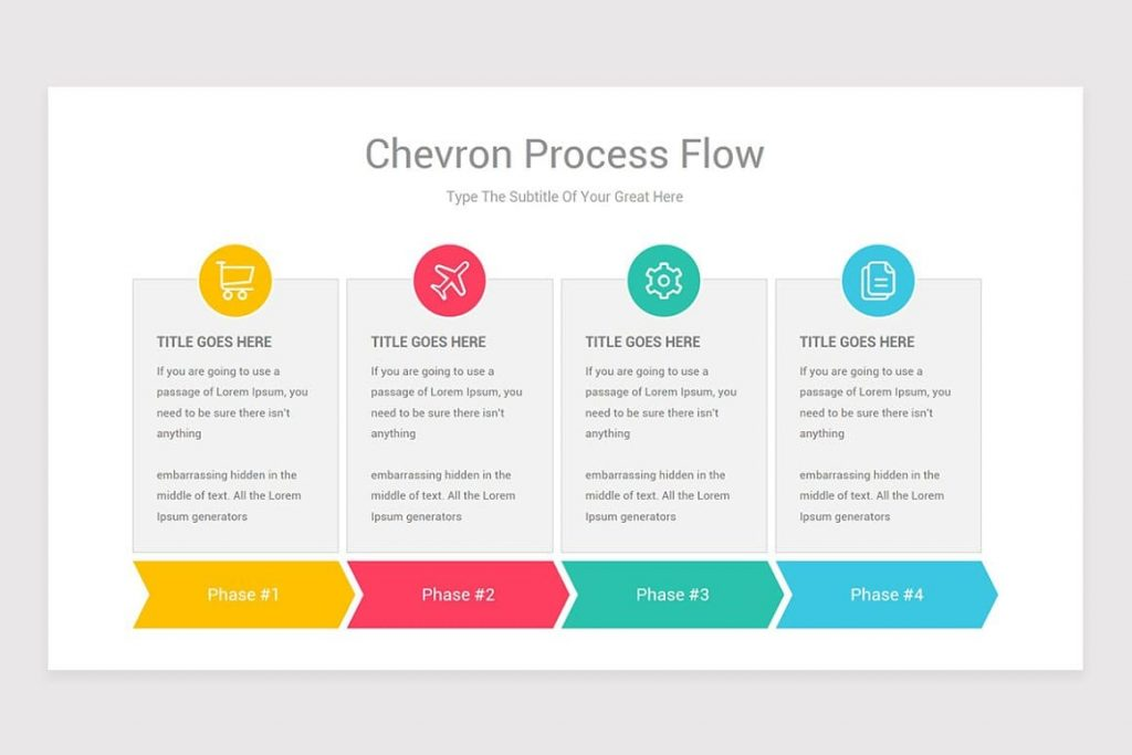 Free Process Flow PowerPoint fonts and icons.
