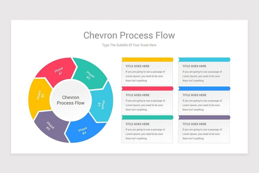Professional collection of Process Flow PowerPoint shapes.
