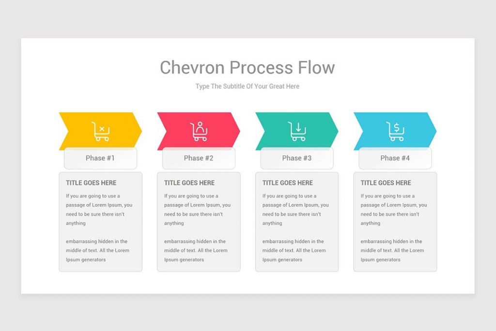 Process Flow PowerPoint vector objects.