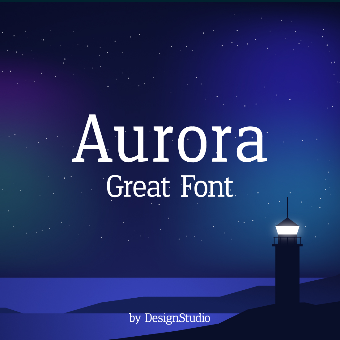 Aurora Monospaced Serif Font cover image.