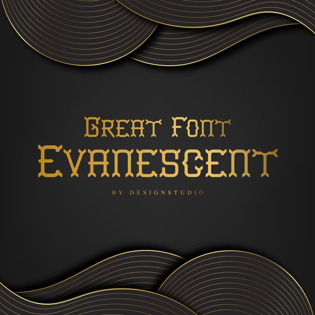Evanescent Slab Serif Font cover image.