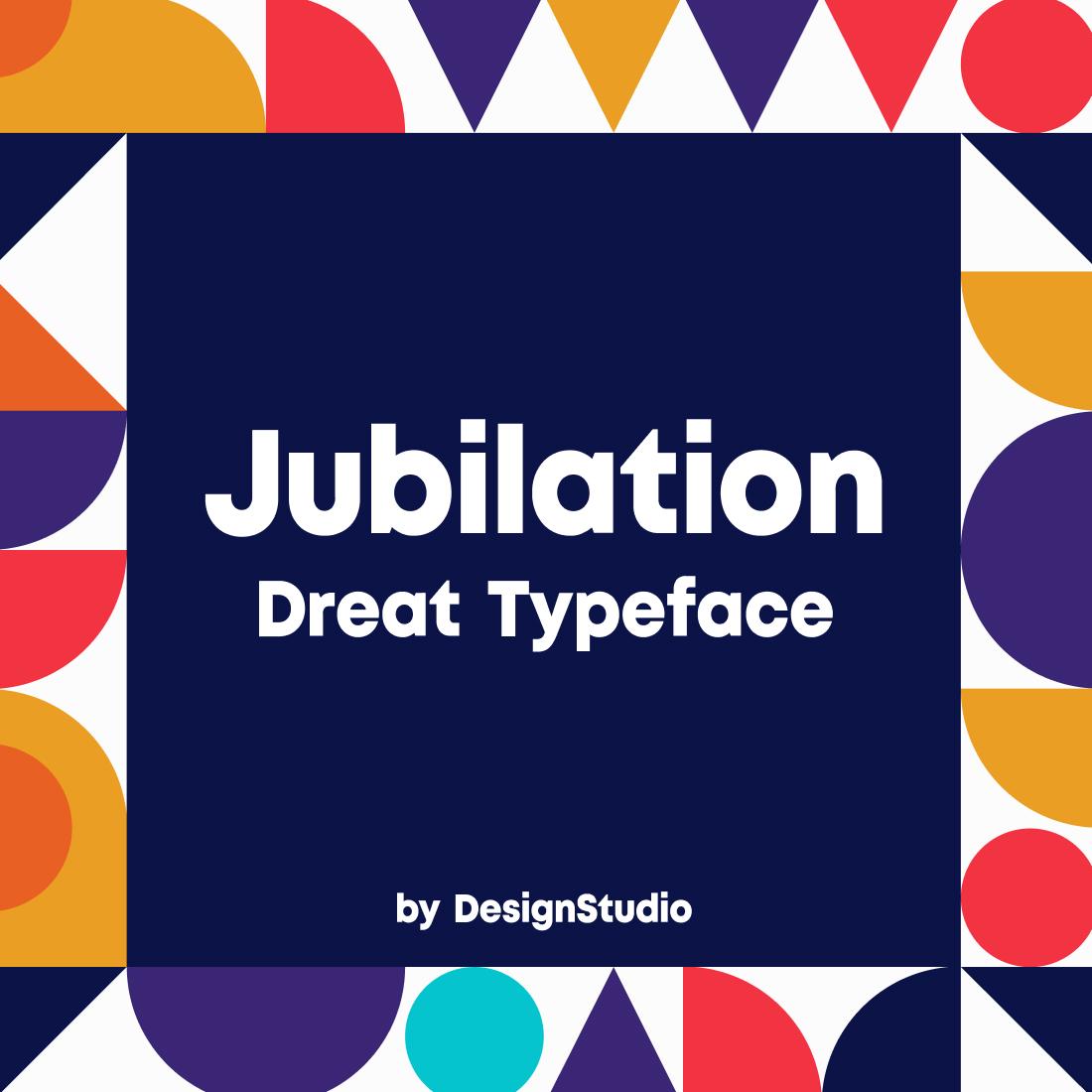 Jubilation Monospaced Sans Serif Font cover image.