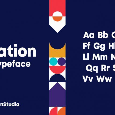 Jubilation Monospaced Sans Serif Font