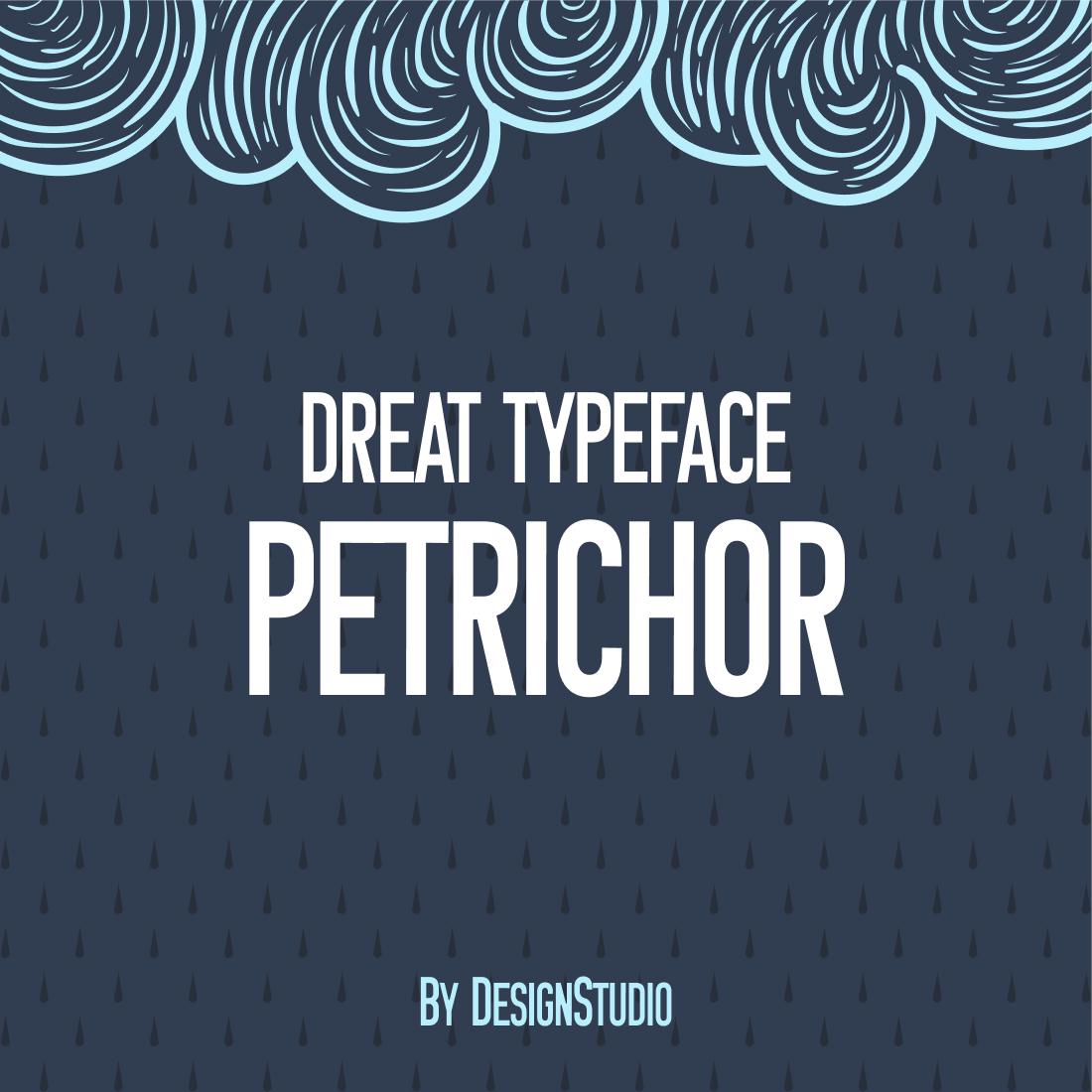 Petrichor Monospaced Sans Serif Font preview image.