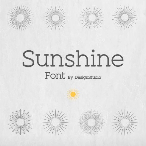 Free Font November Is Cheerful