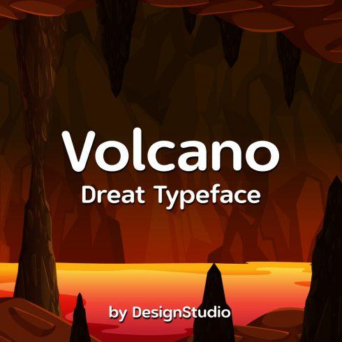 Volcano Monospaced Sans Serif Font cover image.