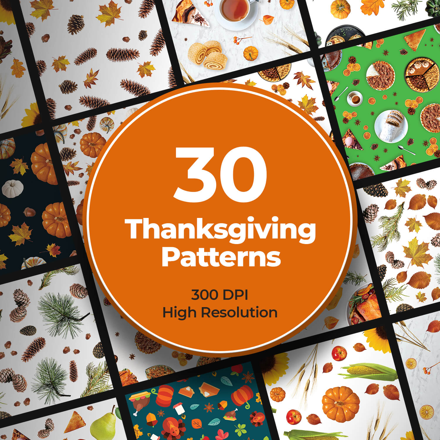 Thanksgiving Patterns cover image.