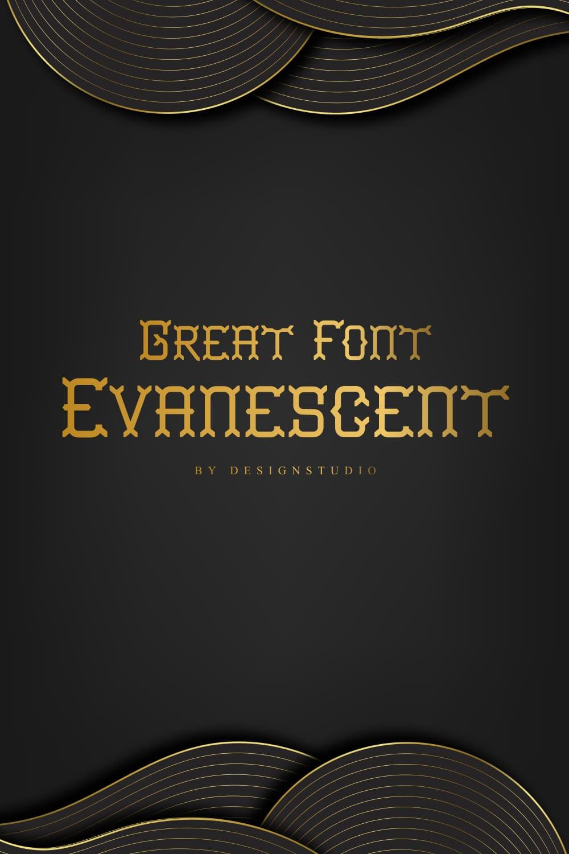 Evanescent Slab Serif Font Pinterest Preview.